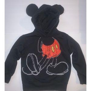 Disneyland Mickey Mouse Hoodie sz xs 4/5